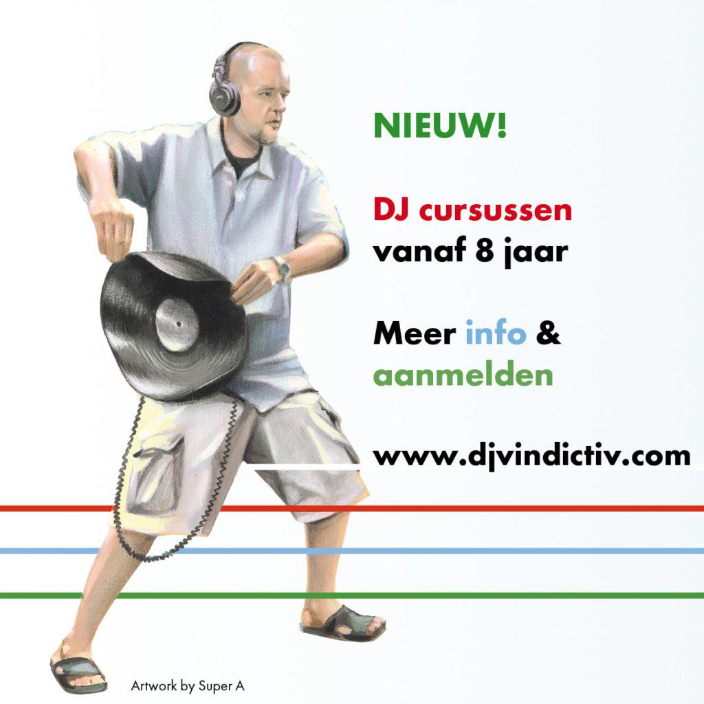 DJ Vindictiv, DJ cursussen, Middelburg, DJ